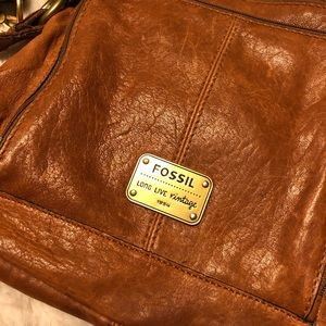 Handbags - Fossil handbag leather Crossbody.